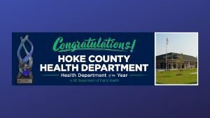 Hoke County Public Health Heroes Awarding Winning Programs