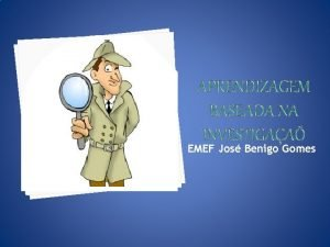 EMEF Jos Benigo Gomes A dificuldade dos alunos