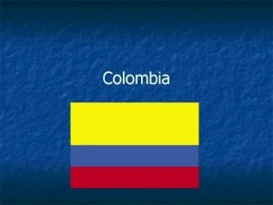 Colombia Timeline 1830 Consolidation of current territory 1830
