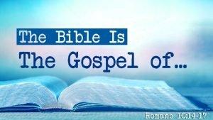The gospel of God 7 times The gospel
