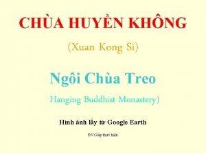 CHA HUYN KHNG Xuan Kong Si Ngi Cha