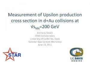Measurement of Upsilon production cross section in dAu