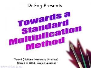 Dr Fog Presents Year 4 National Numeracy Strategy