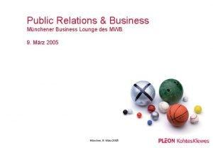 Public Relations Business Mnchener Business Lounge des MWB