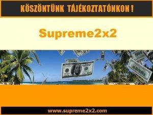 KSZNTNK TJKOZTATNKON Supreme 2 x 2 www supreme