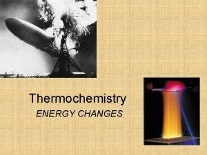 Thermochemistry ENERGY CHANGES Energy is the capacity to