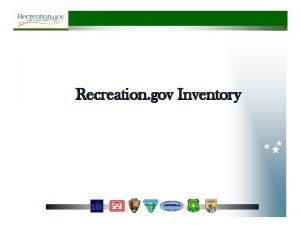 Recreation gov Inventory Overnight Day Use Time Ticketing