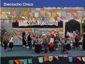 Dieciocho Chico Tradicin del Latino Cordillera Motivar la