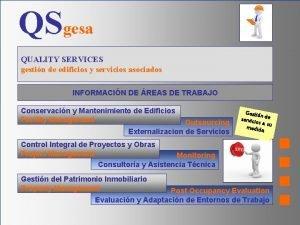 QSgesa QUALITY SERVICES gestin de edificios y servicios