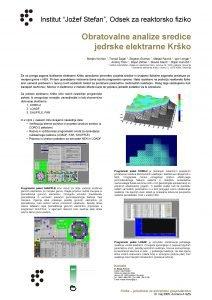 Institut Joef Stefan Odsek za reaktorsko fiziko Obratovalne