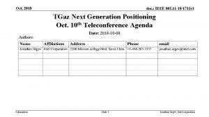 Oct 2018 doc IEEE 802 11 181732 r