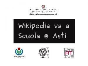 WIKIPEDIA va A SCUOLA Wikimedia Italia porta Wikipedia