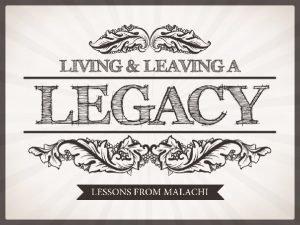 Last week 1 The legacy of STRENGTH standing