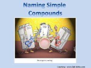 Courtesy www labinitio com Naming Binary Compounds Binary