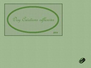Day Crations rflexives 2014 La grande aventure cest