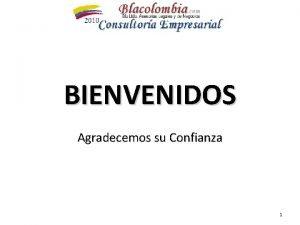 BIENVENIDOS Agradecemos su Confianza 1 Comportamiento Organizacional El