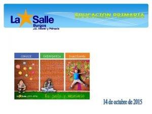 REUNIN DE PADRES LOMCE Educacin Primaria 1 a