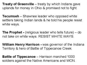Treaty of Greenville treaty by which Indians gave