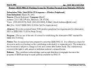 March 2002 doc IEEE 802 15 02139 r