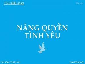 TVCHH 121 NNG QUYN TNH YU Li Vit