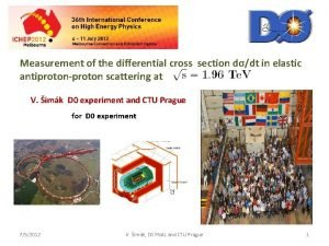 Measurement of the differential cross section ddt in