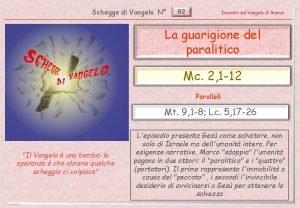 Schegge di Vangelo N 82 Incontri sul Vangelo