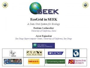 Eco Grid in SEEK A Data Grid System