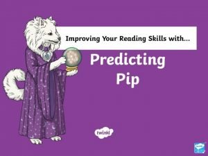 What Does Predicting Pip Do Predictive Pip helps