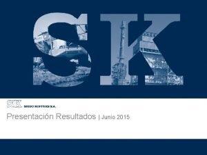 Presentacin Resultados Junio 2015 Asesores Financieros Resultados Jun15