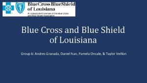 Blue Cross and Blue Shield of Louisiana Group