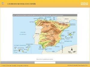 LOS MEDIOS NATURALES DE ESPAA La Pennsula Ibrica