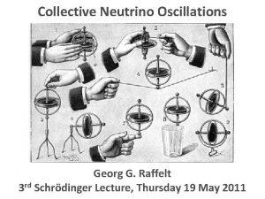 Collective Neutrino Oscillations Collective Oscillations Georg G Raffelt