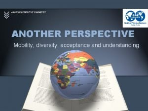 ANOTHER PERSPECTIVE COMMITTEE ANOTHER PERSPECTIVE Mobility diversity acceptance
