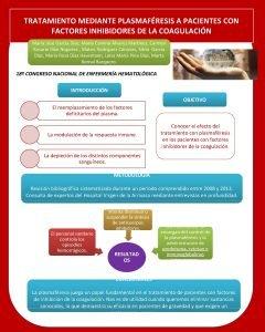 TRATAMIENTO MEDIANTE PLASMAFRESIS A PACIENTES CON FACTORES INHIBIDORES