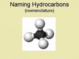 Naming Hydrocarbons nomenclature Basic Naming of Hydrocarbons Hydrocarbon
