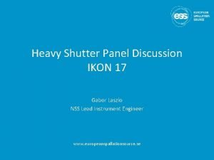 Heavy Shutter Panel Discussion IKON 17 Gabor Laszlo
