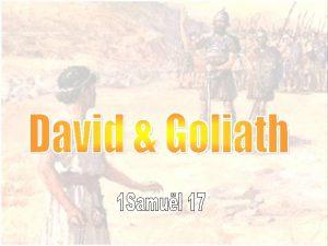 David de Zoon van David uit Bethlehem gezalfd