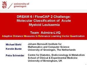 DREAM 6 Flow CAP 2 Challenge Molecular Classification