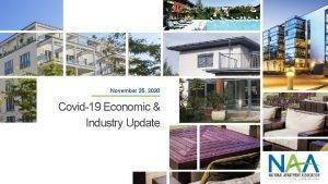 November 25 2020 Covid19 Economic Industry Update Economic