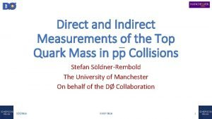 Direct and Indirect Measurements of the Top Quark