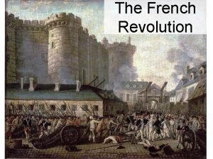 The French Revolution Causes of the Revolution Enlightenment