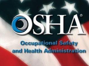 OSHA Recordkeeping Update Jim Shelton CAS HNAO Topics