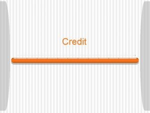 Credit Bell Ringer 1 Is a credit card