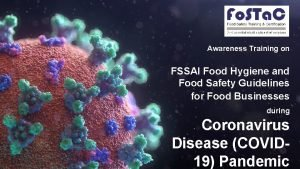 Awareness Training on FSSAI Food Hygiene and Food