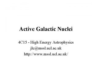 Active Galactic Nuclei 4 C 15 High Energy