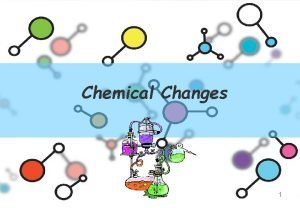 Chemical Changes 1 Review Chemical and Physical Changes