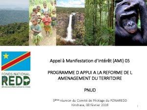 Appel Manifestation dIntrt AMI 05 PROGRAMME D APPUI