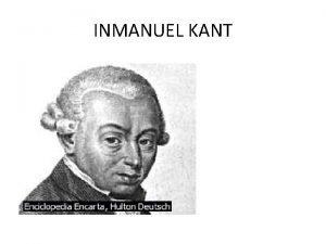 INMANUEL KANT OBRAS Fase precrtica 1746 1781 1759