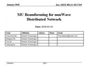 January 2018 doc IEEE 802 11 18175 r