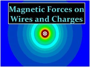 Magnetic Forces on Wires and Charges With permanent